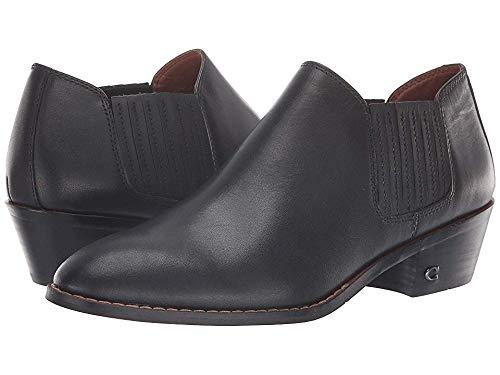 Coach Women's Leather Ankle Bootie Black 8 M US