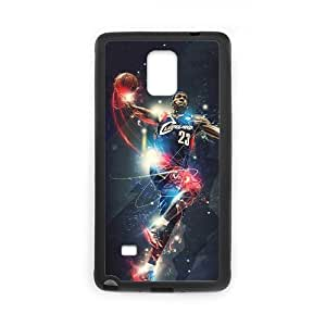 Onshop Custom Cool Lebron James Phone Case Laser Technology for Samsung Galaxy Note 4