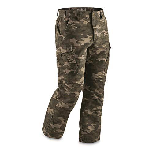 stop Cargo Work Pants, Camo, W34 L30 ()