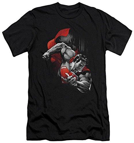 Superman - My City (slim fit) T-Shirt Size L]()