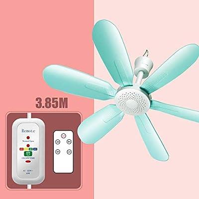 YPY Mini Ventilador de Techo Mudo Micro Ventilador Casa Dormitorio ...