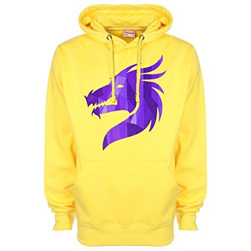 Cristallo Minamo Drago Con Cappuccio Yellow Viola dxqf8TwP