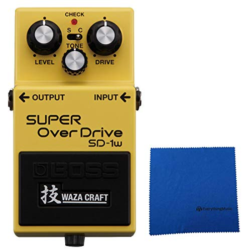 Boss SD-1W Super Overdrive Waza Craft Special Edition with -