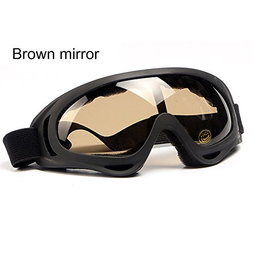 Unisex Fashion Sunglasses Hosamtel New Ski Snowboard Anti-UV Outdoor Motorcycle Cycling Glasses Bike Bicycle Sunglasses Dustproof Windproof Polarized Sunglasses Protection for Women Girl Boy Men - Around Online Prescription Sunglasses Wrap
