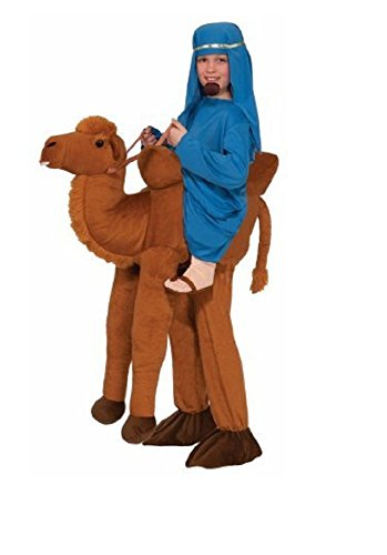 [Kids Ride on a Camel Child Halloween Costume, 1 Size] (Camel Child Costumes)