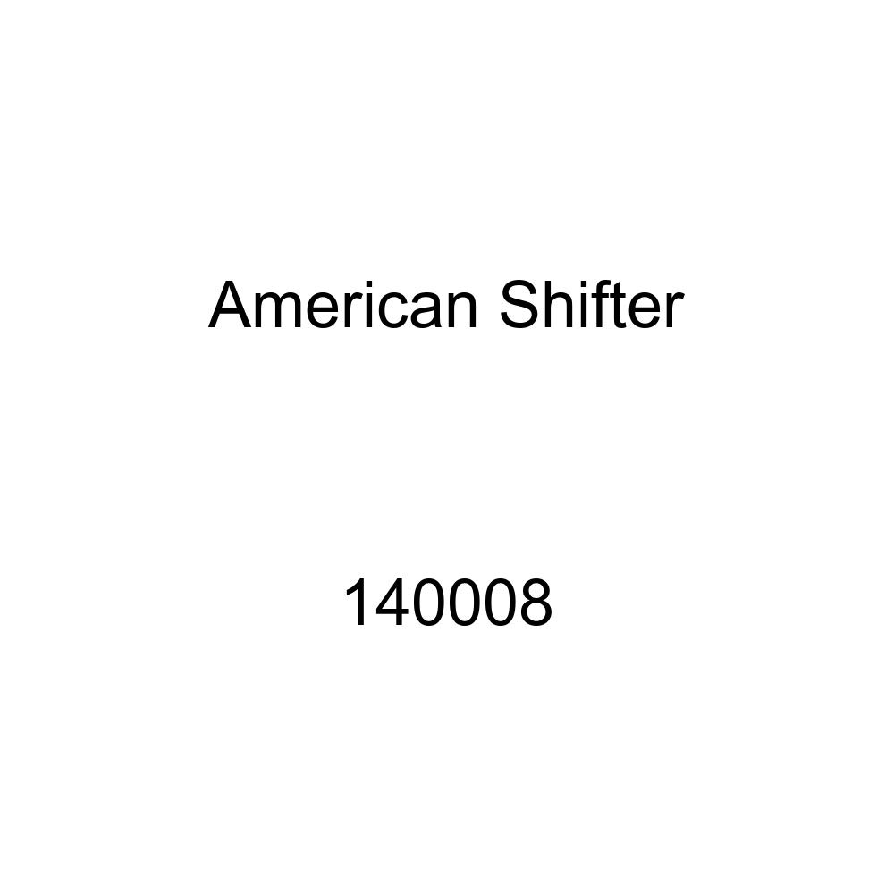 Green 1968 Mustang American Shifter 140008 Black Shift Knob with M16 x 1.5 Insert
