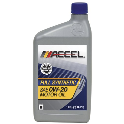 Accel 62695 Sae 0w 20 Full Synthetic Motor Oil 1 Quart