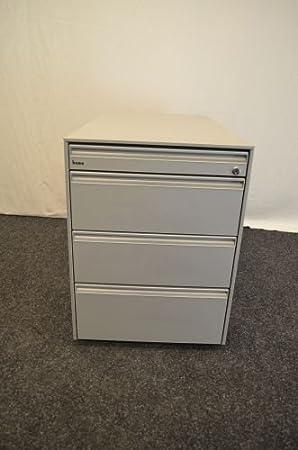 Rollcontainer In Grau 4x Schublade Bene Büromöbel Amazonde