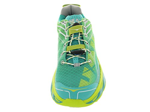 Hoka Shoe Ankle High Acid White Women's Huaka Running One Aqua wBYrnwHgq