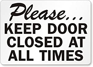 Versatile image regarding keep door closed sign printable