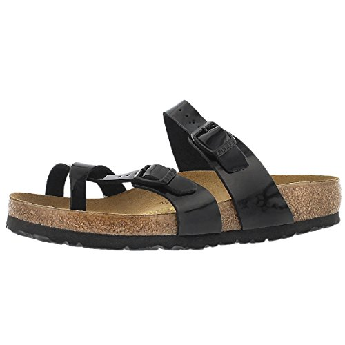 caa55f76df07 Birkenstock Women s Mayari Adjustable Toe Loop Cork Footbed Sandal Black 35  M EU - Buy Online in Oman.