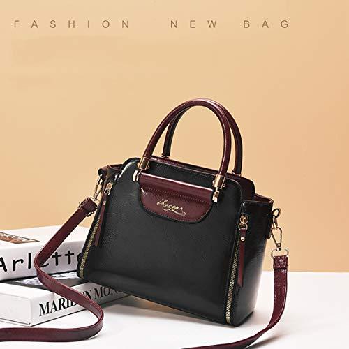 Exull Pelle Bag Borse Shopping Capacità A Grey Per Ufficio Grande Viaggio Pu Shopper Sacchetto Borsa Mano Tote Spalla 92317 Donna Lavoro vfAEAq