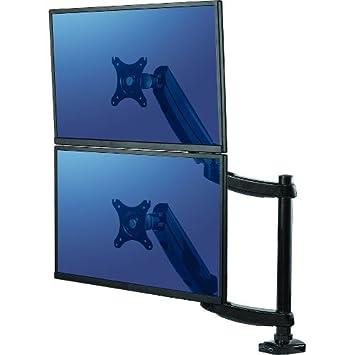 Fellowes 8043401 Bras Porte écran double Platinum Series jusqu'à 27