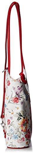 fiori Varios De Hombro Colores 80056 rosso Shoppers Borse Y Bolsos Mujer Chicca wWZ1vqp8SX
