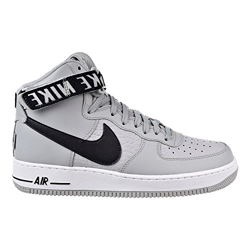Nike Air Force 1 High '07'' NBA Pack Men's Shoes Silver/Black/White 315121-044 (13 D(M) US) by NIKE