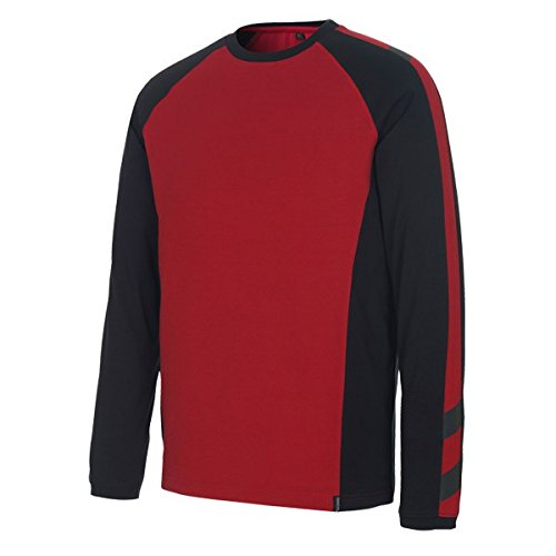 """Mascot T-shirt """"Bielefeld"""", 1 Stück, 2XL, rot/schwarz, 50504-250-0209-2XL"""