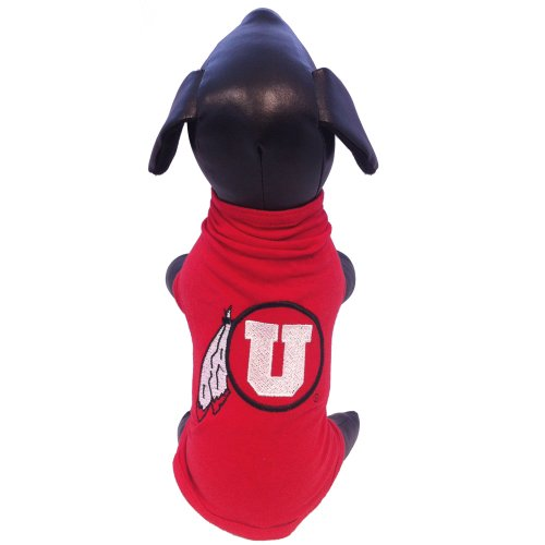All Star Dogs NCAA Utah Runnin Utes Cotton Lycra Dog Tank Top, X-Small by All Star Dogs