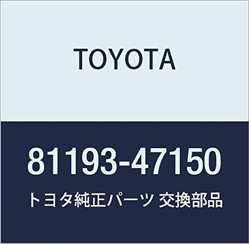 Toyota 81193-47150 Headlamp Protector