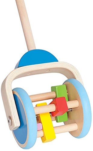 Award Winning Hape Push & Pull Lawn Mower Toy