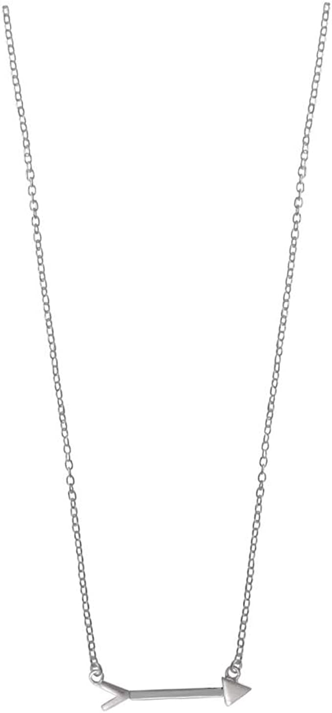 Amazon Com Boma Jewelry Sterling Silver Arrow Necklace 16 Inches Pendant Necklaces Clothing The bow and arrow (弓と矢 yumi to ya) (more generally the arrow (矢 ya)) is a powerful item introduced early in diamond is unbreakable. boma jewelry sterling silver arrow necklace 16 inches