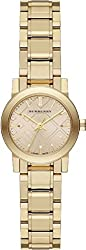 Burberry The City Champagne Dial Gold-tone Ladies Watch BU9227