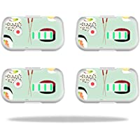 Skin For DJI Phantom 3 Drone Battery (4 pack) – Sushi | MightySkins Protective, Durable, and Unique Vinyl Decal wrap cover | Easy To Apply, Remove, and Change Styles | Made in the USA