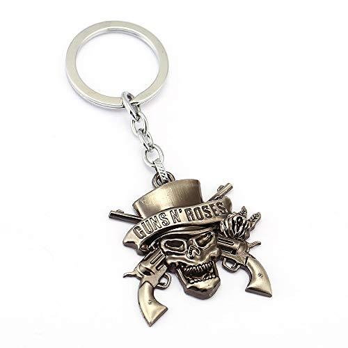 Amazon.com: Keychains Music Band Gnr Guns N Roses Keychain ...