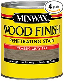 Minwax 70048 1 Quart Classic Gray Interior Stain - - Amazon.com