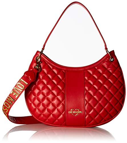 Nappa Cartables Borsa Moschino Rouge Quilted Pu Love Rosso q5XtxTwn