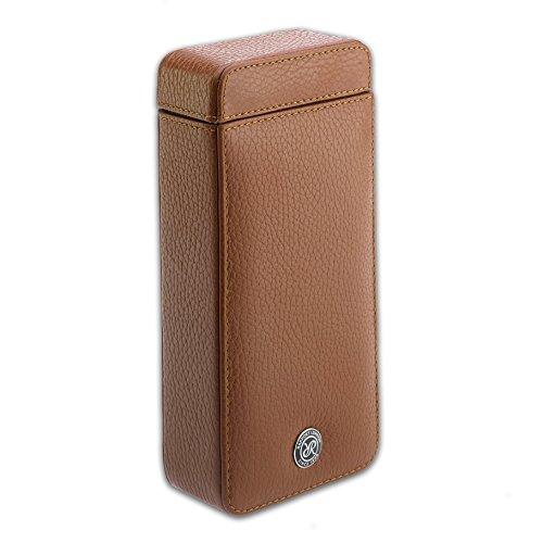 Rapport Berkeley Single Leather Watch Slip Case - Brown