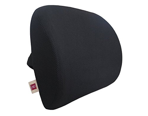 LoveHome Memory Foam Lumbar Support Back Suppor...