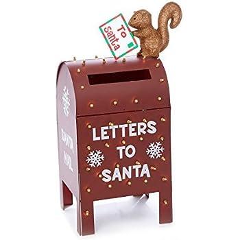 Amazon.com: TisYourSeason - Juego de 3 letras navideñas para ...