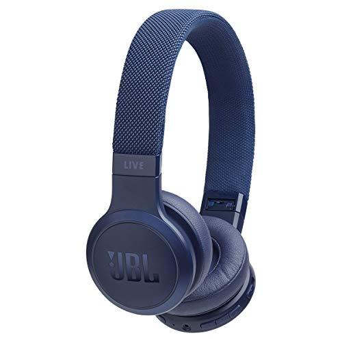 JBL LIVE 400BT, On-Ear Wireless Headphones, Blue
