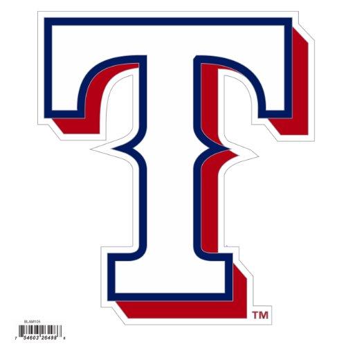 MLB Texas Rangers Automotive Magnet, 8-Inch (Texas Team Magnet Rangers)