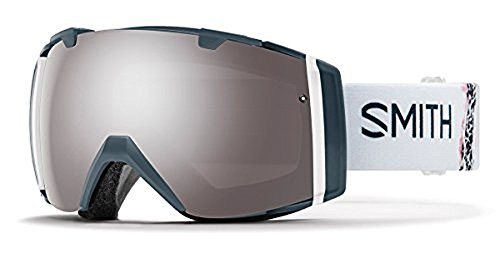 Smith Optics Adult I/O Snowmobile Goggles Thunder Composite / ChromaPop Sun Platinum Mirror by Smith Optics