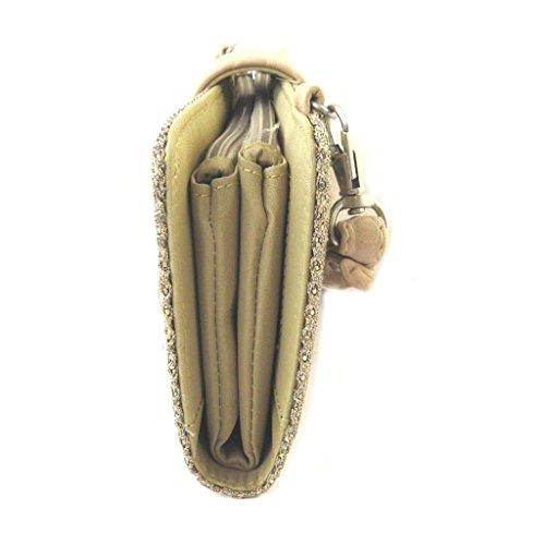 de cm de beige oro color Bolso cartera 5x6 la 20x14 'Lollipops'de ZxgHg1q