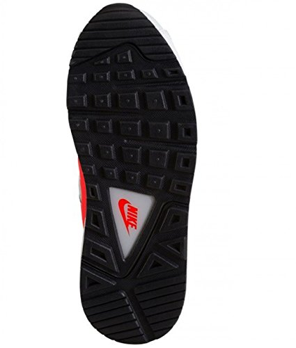 wlf Plateado Pltnm Pr para de Nike Command Air GS Max Running Brght Crmsn Gry Zapatillas Gris Niñas Rojo qwgzwAaO