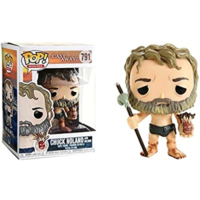 Funko POP! Movies: Cast Away - Chuck with Wilson: Toys & Games