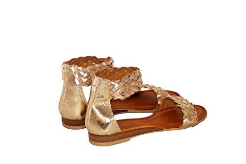 Sandali donna in pelle per l'estate scarpe RIPA shoes made in Italy - 09-R9005