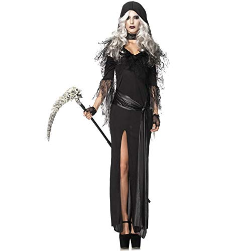 Yunfeng Witch Costume Witch Costume Halloween Costume Vampire Costume Dark Ghost Bride Princess Dress Cosplay Costume -
