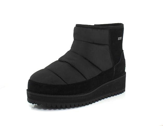 UGG Ridge Black Mini Boots