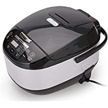 Rice Cooker, 11-in-1 Multi- Function Programmable, 20 Cups Cooked Rice Cooker and Warmer, Slow Cooker, Sauté, Steamer, Yogurt Paster Cake Maker, 5L By Comfee