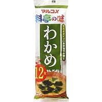 Marukome Namamiso Wakame 12P, 200g