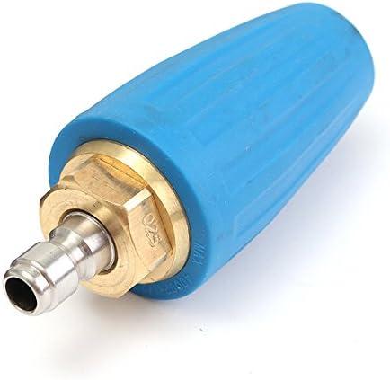 accessori ugelli a spirale Size 1 1 diametro foro 025 con 5 connettori iplusmile Diameter 025 Ugello rotante per idropulitrice ad alta pressione