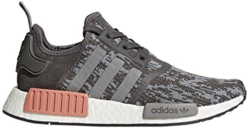Adidas Originals Women's NMD_R1 W Sneaker, Grey Five/Grey Three/Raw Pink, 7.5 M US