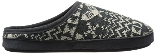 Woolrich Womens Whitecap Knit Mule Slip On Slipper Charcoal Snowshoe K2psI