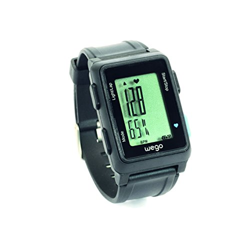 WEGO Pace & Heart Rate Monitor With Easy to Use - Efficient Sensor for Extended Battery Life and Power Management