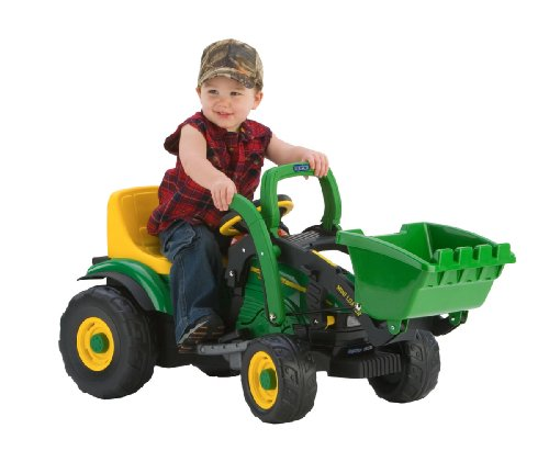 Peg Perego 6 Volt John Deere Mini Power Loader - Green