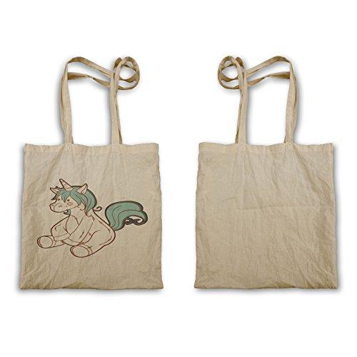 Unicorno Si Trova Felicemente Tote Bag P699r