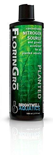 Brightwell Aquatics 17 fl. oz. Florin-Gro Nitrogen Fertilizer for Planted FW Aquaria, 500 mL